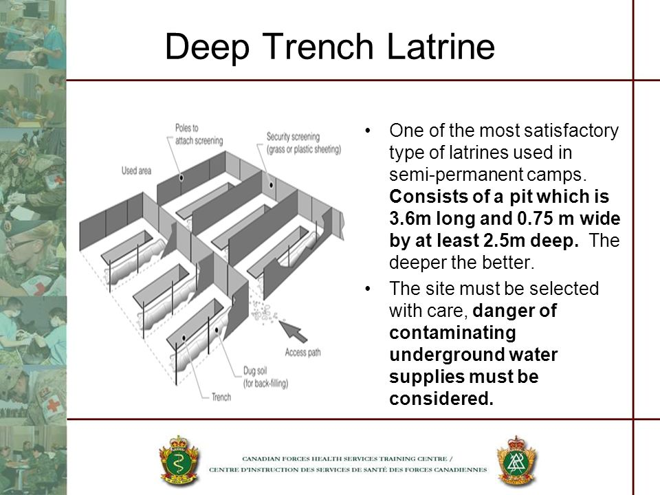 Deep Trench Latrine