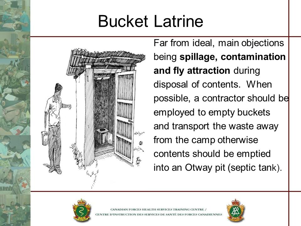 Bucket Latrine