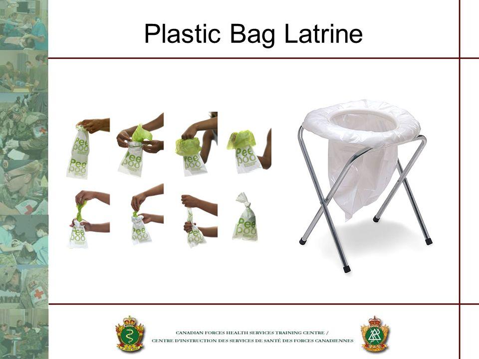 Plastic Bag Latrine