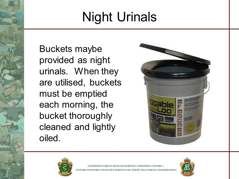 Night Urinals