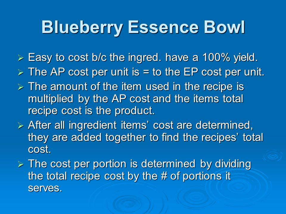 Blueberry Essence Bowl