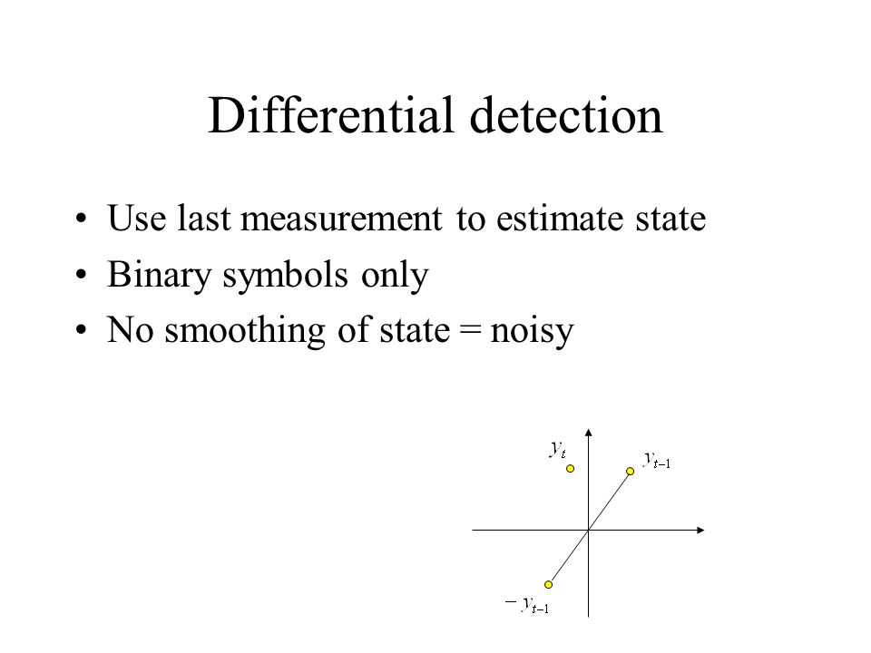 Differential detection