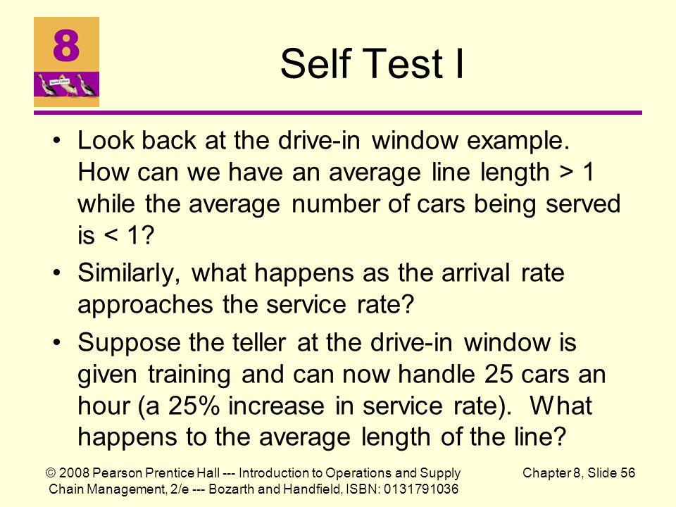 Self Test I