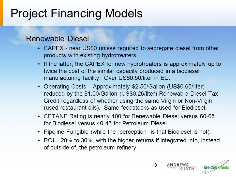 Project Financing Models