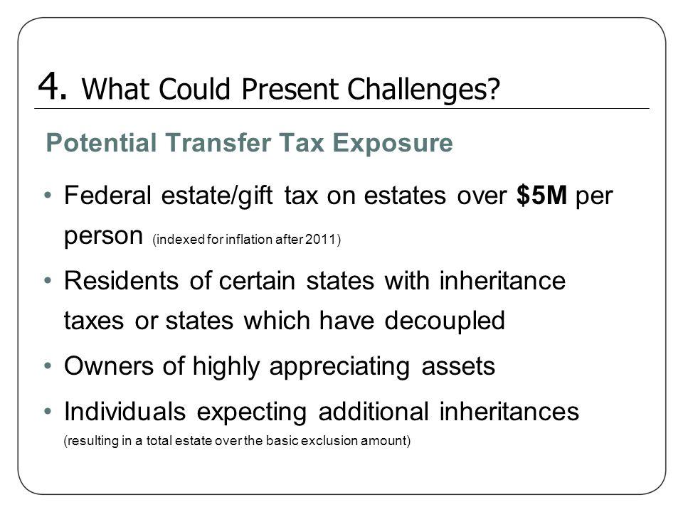Potential Transfer Tax Exposure