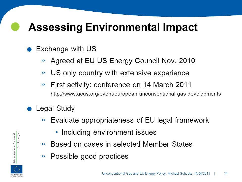 Assessing Environmental Impact