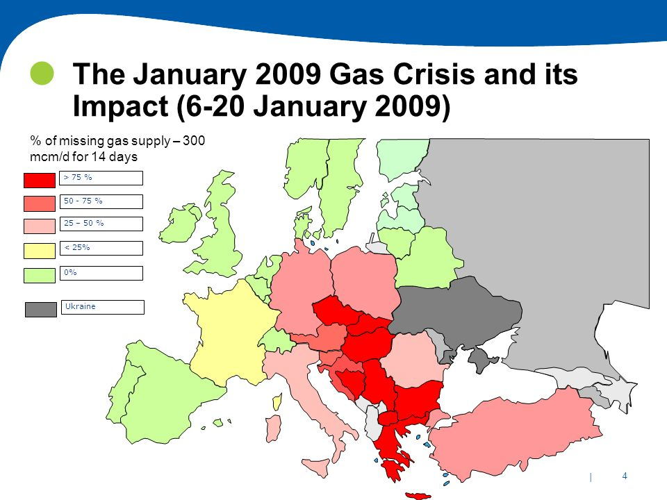 The January 2009 Gas Crisis and its Impact (6-20 January 2009)