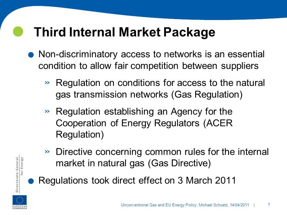 Third Internal Market Package