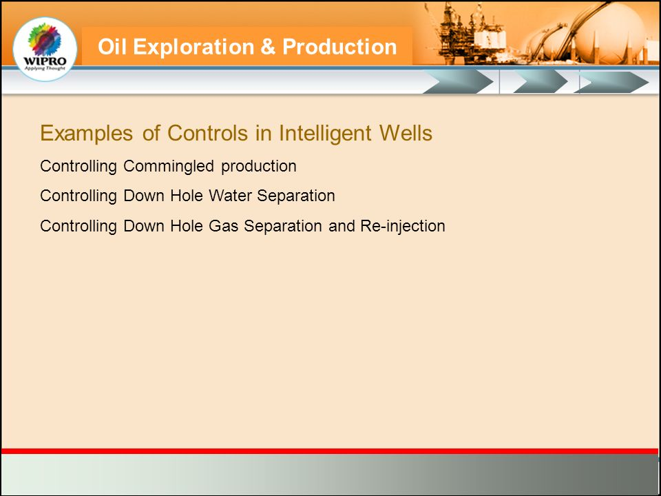 Examples of Controls in Intelligent Wells