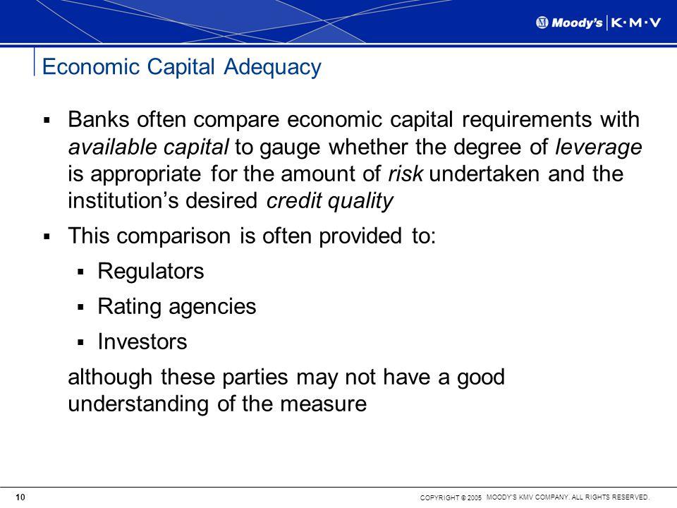 Economic Capital Adequacy