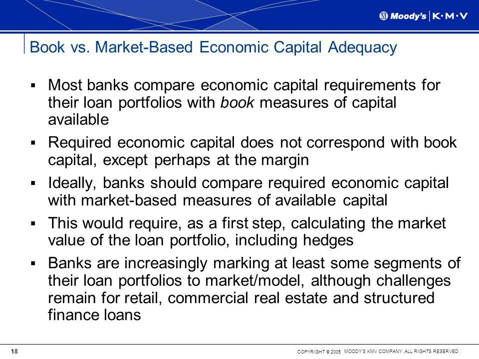 Book vs. Market-Based Economic Capital Adequacy