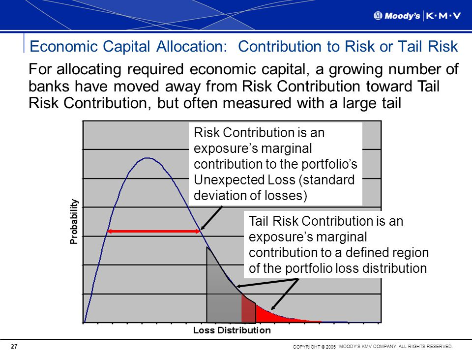 Economic Capital Allocation: Contribution to Risk or Tail Risk