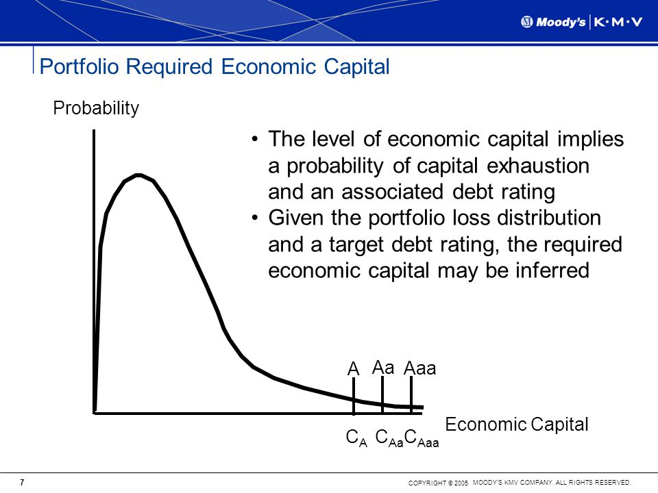 Portfolio Required Economic Capital