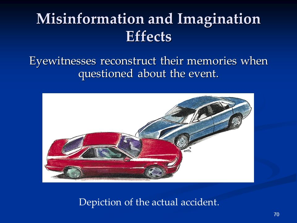 Misinformation and Imagination Effects