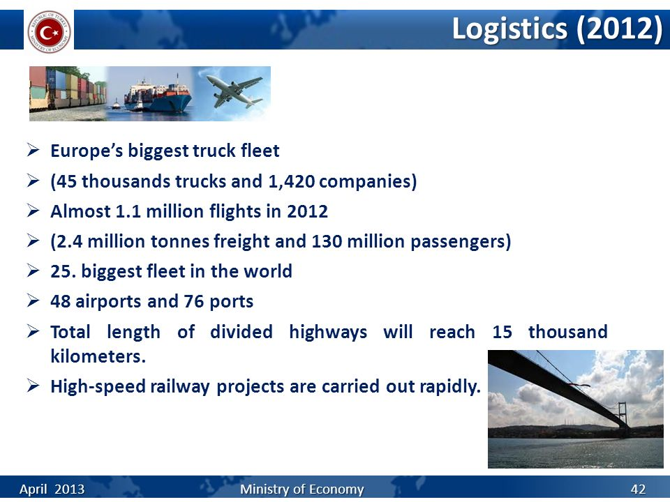 Logistics (2012) Europe's biggest truck fleet