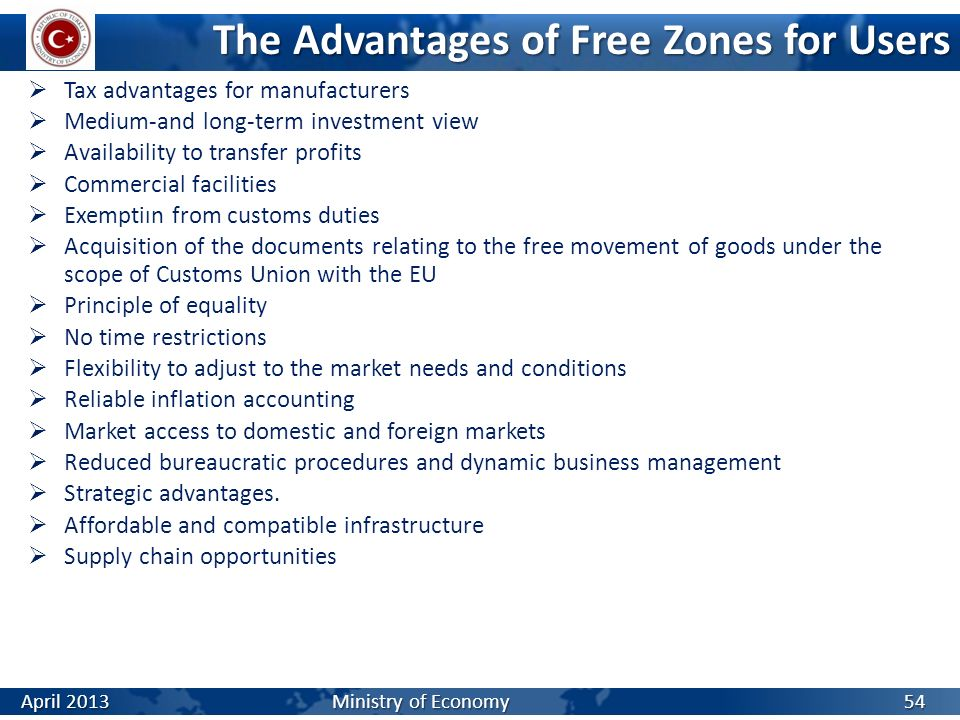 The Advantages of Free Zones for Users