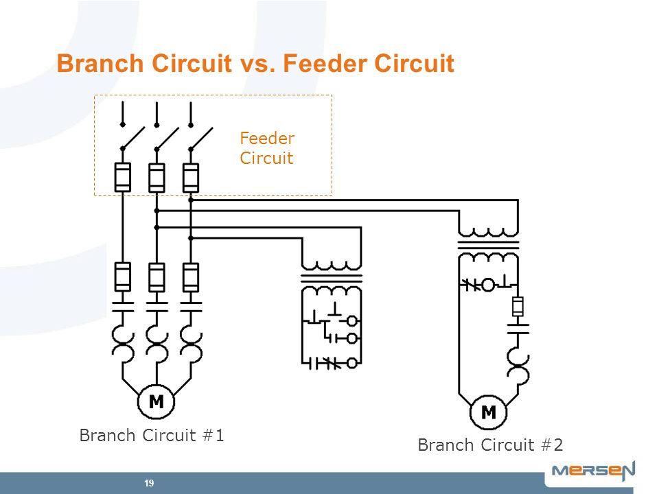 Branch Circuit vs. Feeder Circuit