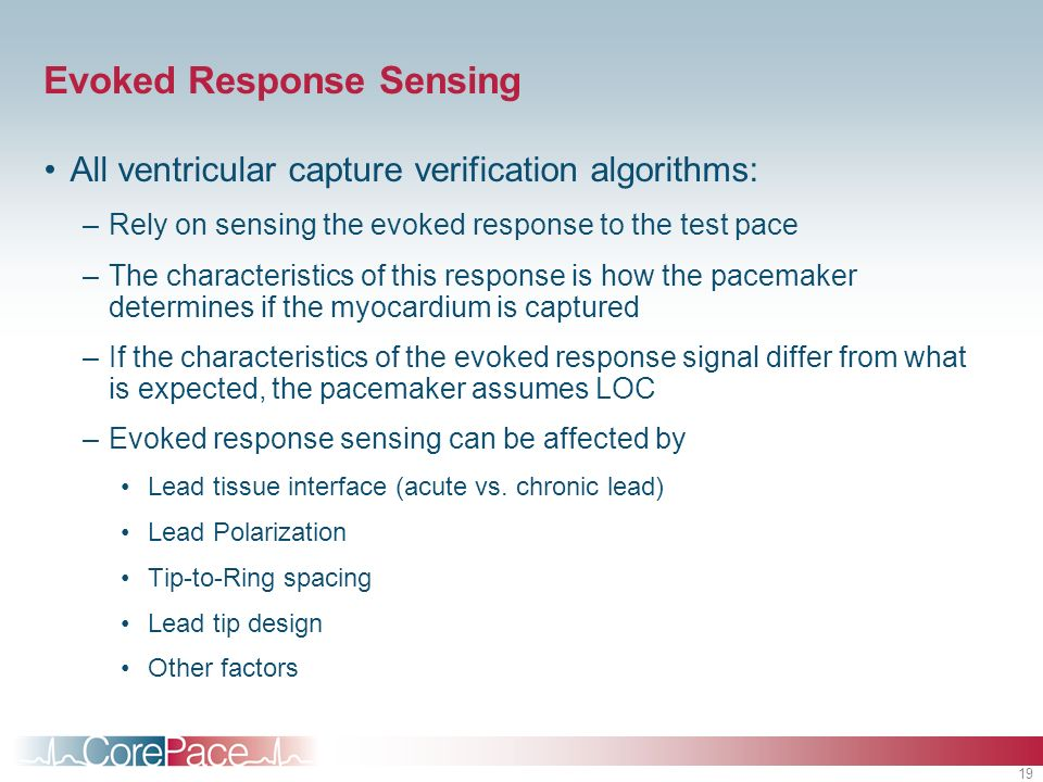 Evoked Response Sensing