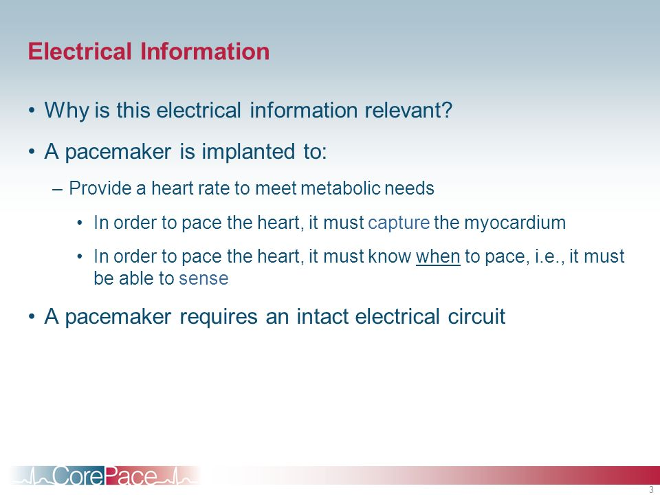 Electrical Information