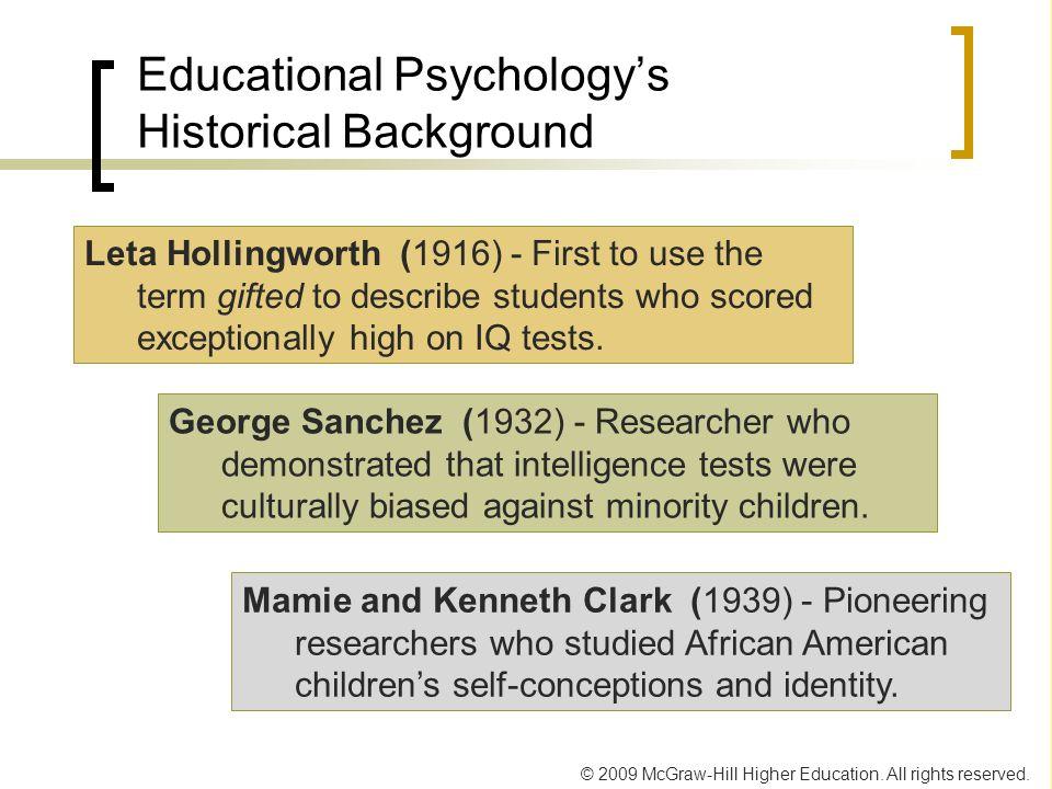 Educational Psychology's Historical Background