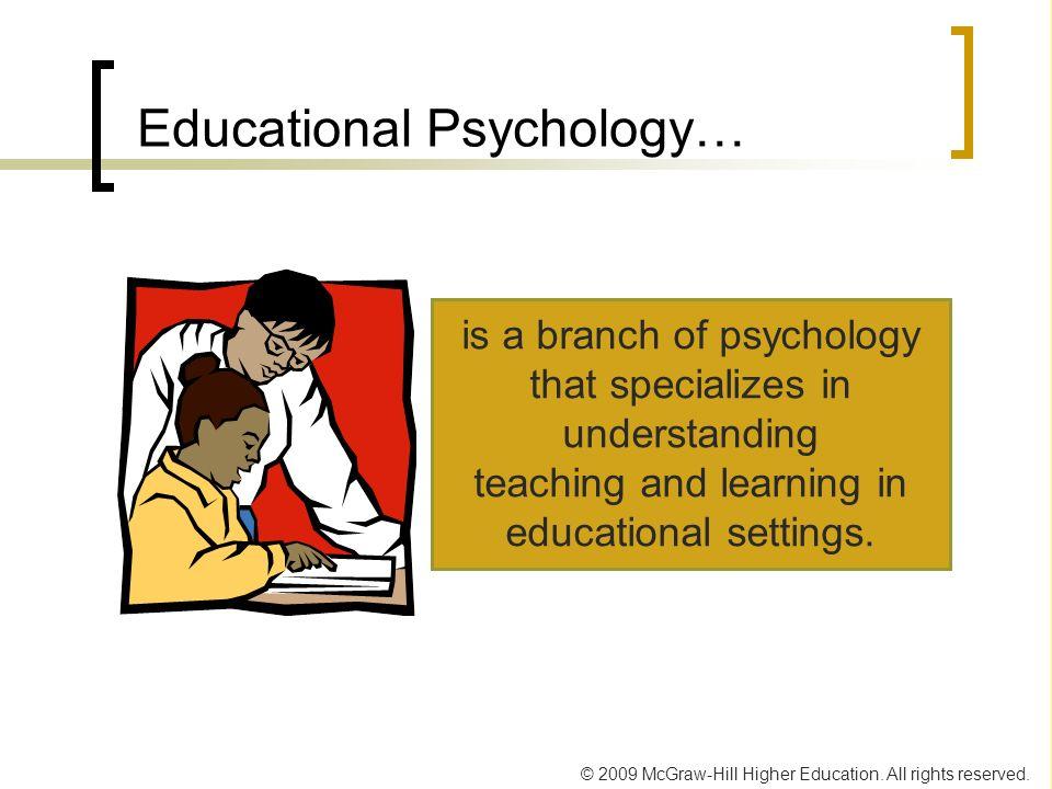 Educational Psychology…