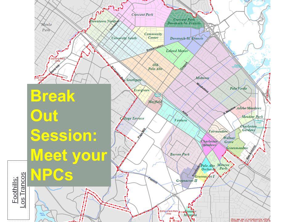 Break Out Session: Meet your NPCs