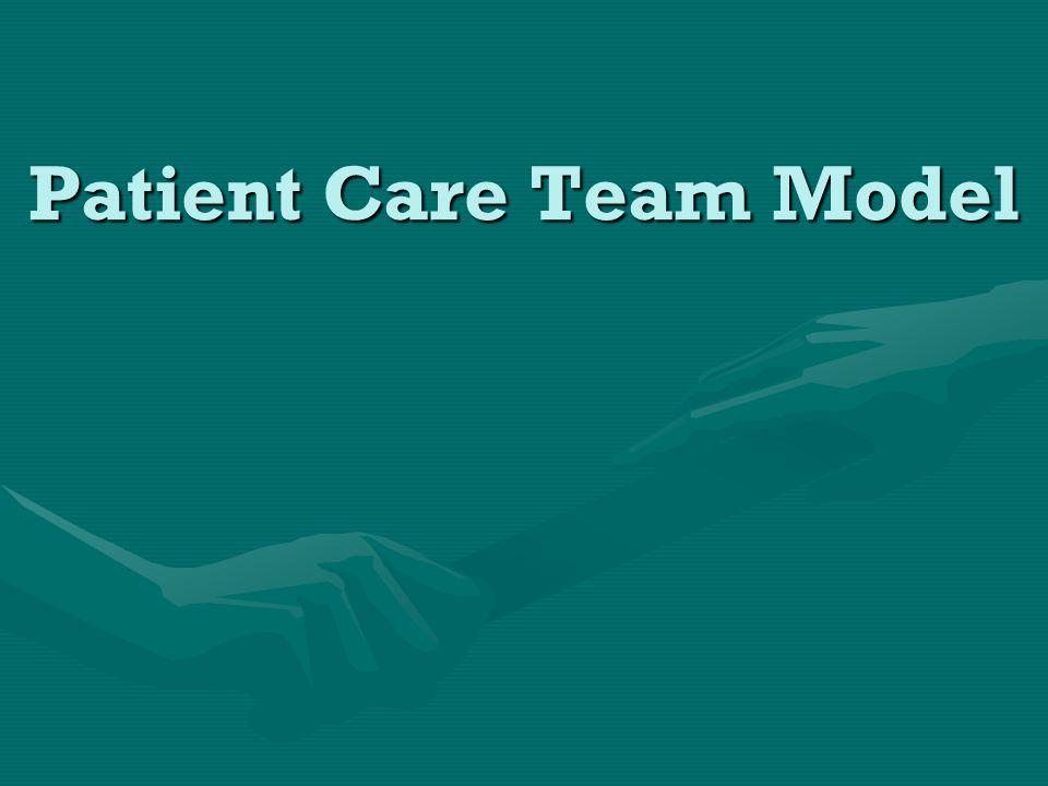 Patient Care Team Model