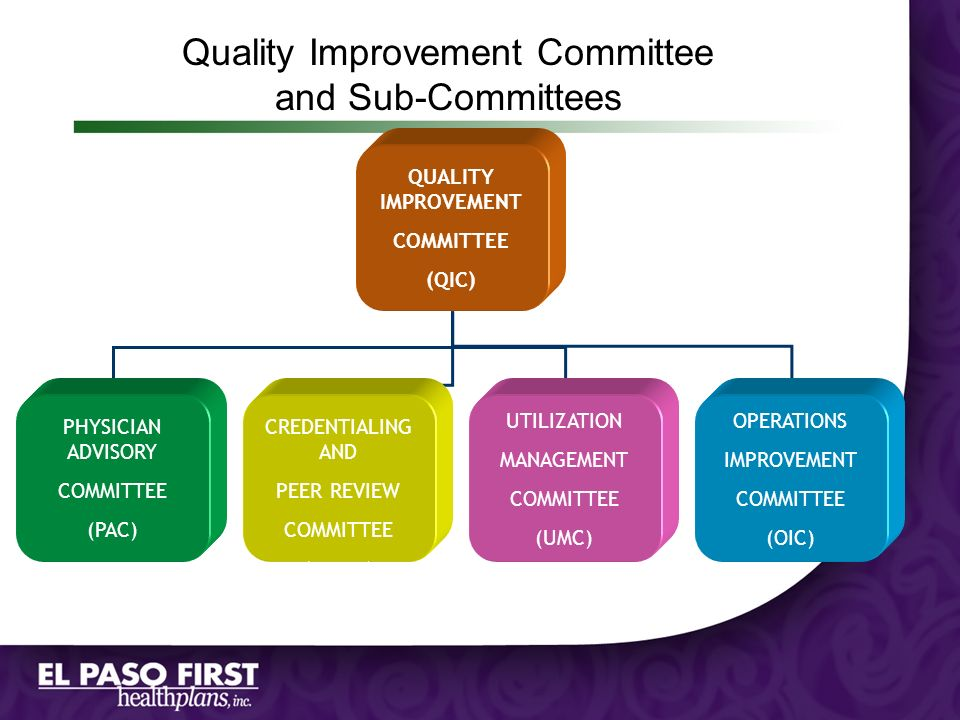Quality Improvement Committee