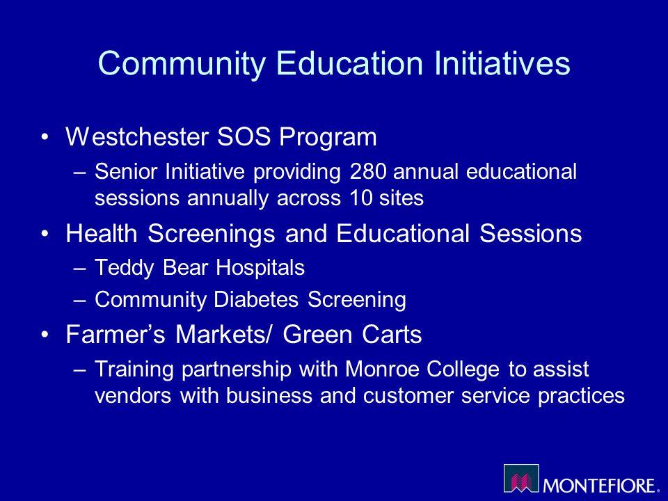 Community Education Initiatives