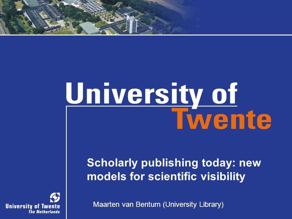 Maarten van Bentum (University Library)