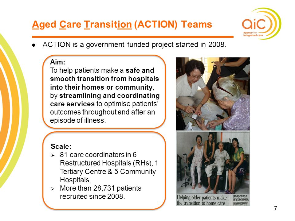 Aged Care Transition (ACTION) Teams