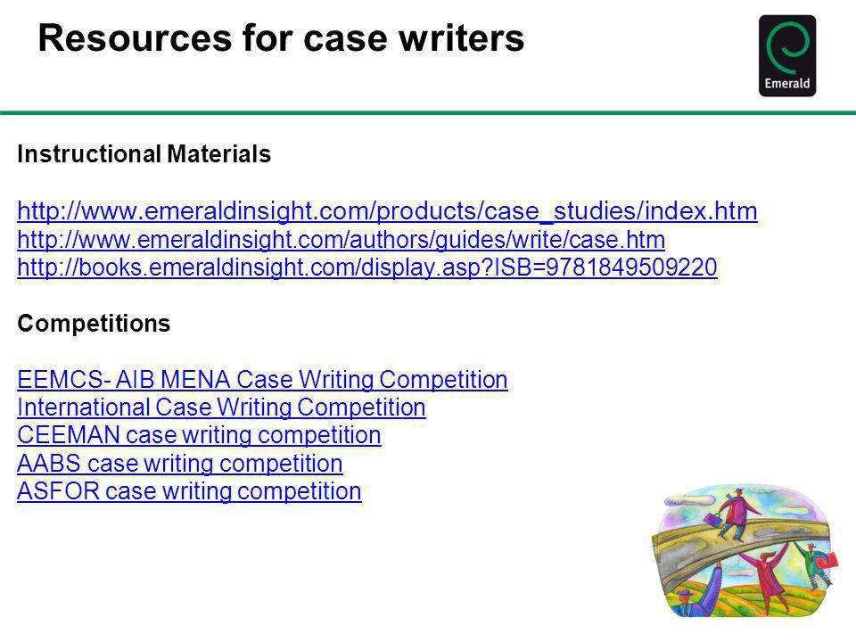 Resources for case writers