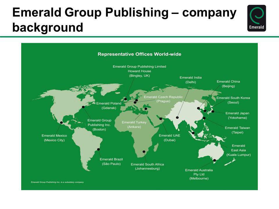 Emerald Group Publishing – company background