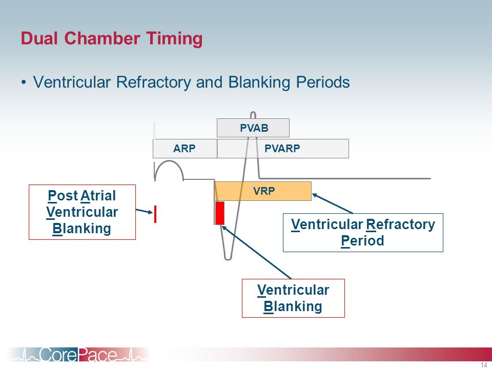 Post Atrial Ventricular Blanking Ventricular Refractory Period