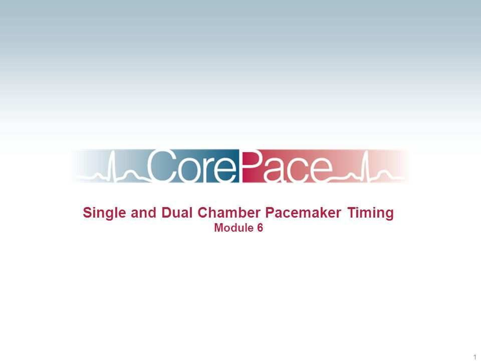 Single and Dual Chamber Pacemaker Timing Module 6