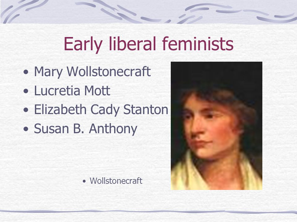 Early liberal feminists