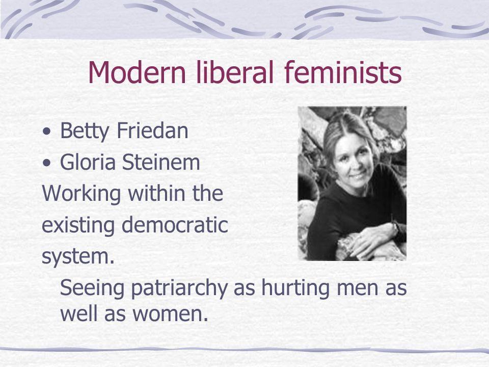 Modern liberal feminists
