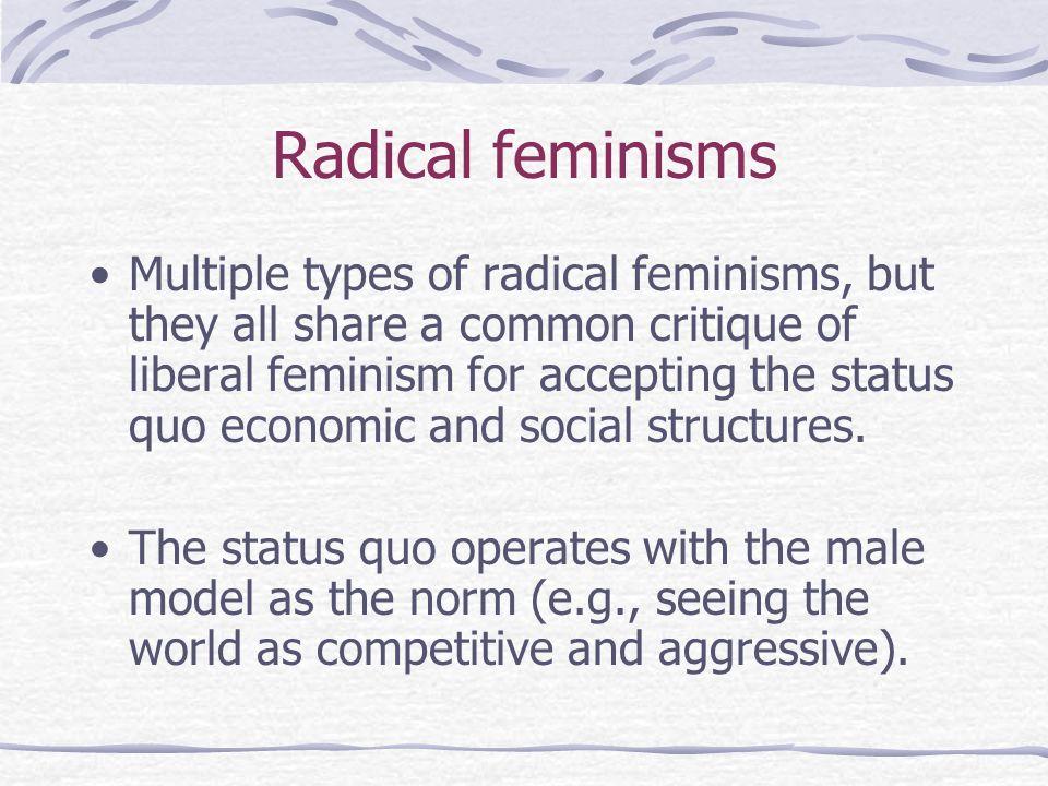 Radical feminisms