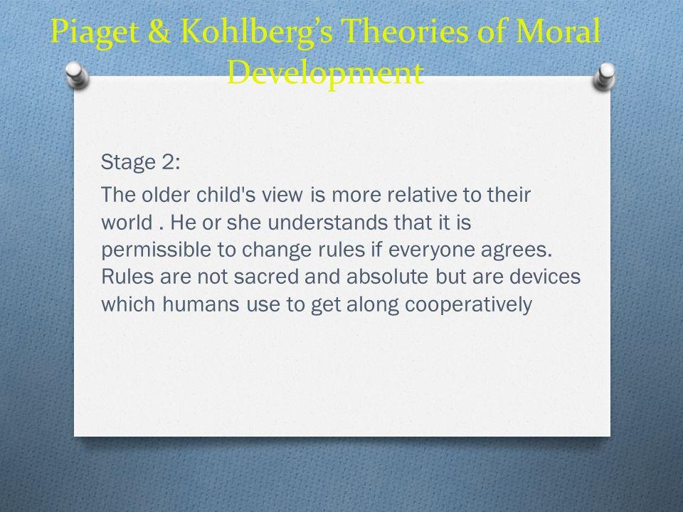 Piaget & Kohlberg's Theories of Moral Development