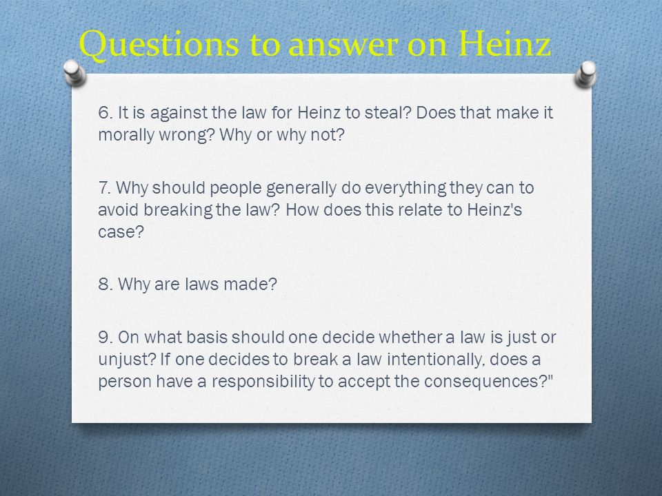 Questions to answer on Heinz
