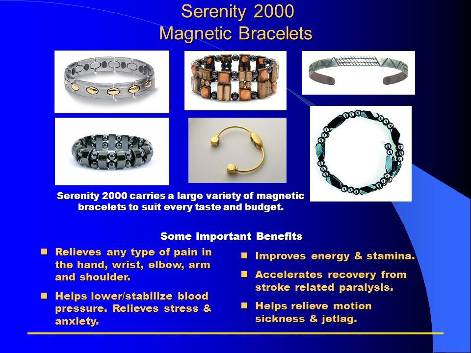 Serenity 2000 Magnetic Bracelets