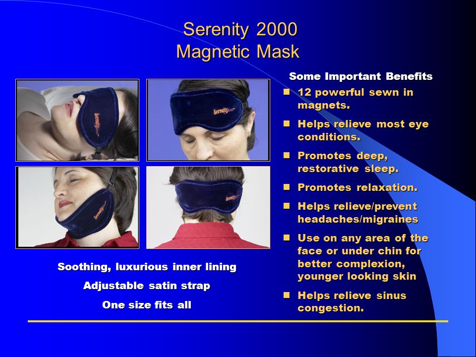 Serenity 2000 Magnetic Mask
