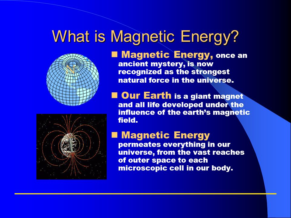 What is Magnetic Energy