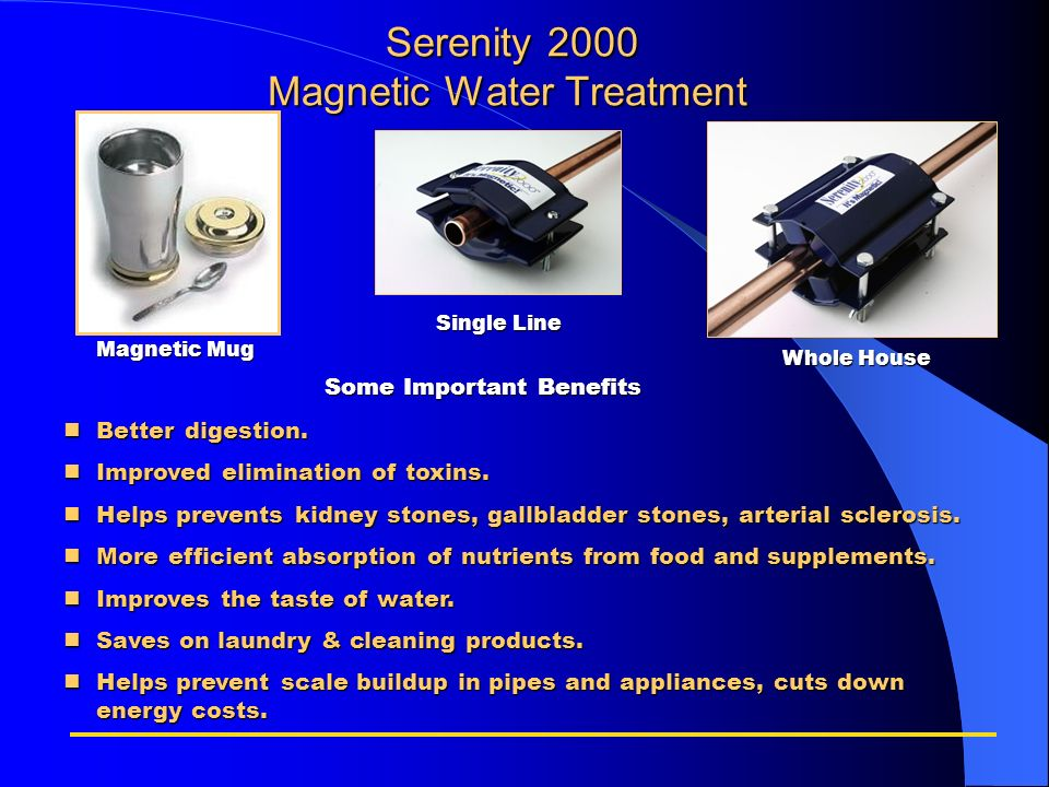 Serenity 2000 Magnetic Water Treatment