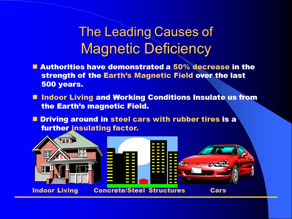 The Leading Causes of Magnetic Deficiency
