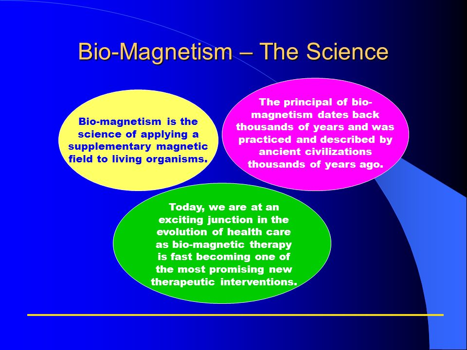 Bio-Magnetism – The Science