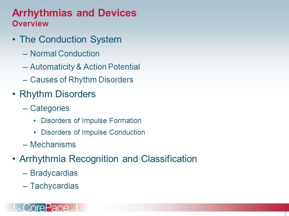 Arrhythmias and Devices Overview