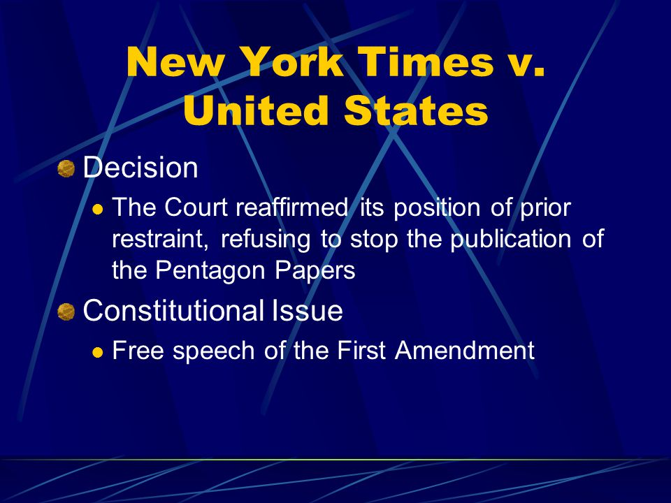 court case new york times vs Is there a similar case as new york times co v sullivan (1964) in english law what events led to the new york times co v sullivan court case.