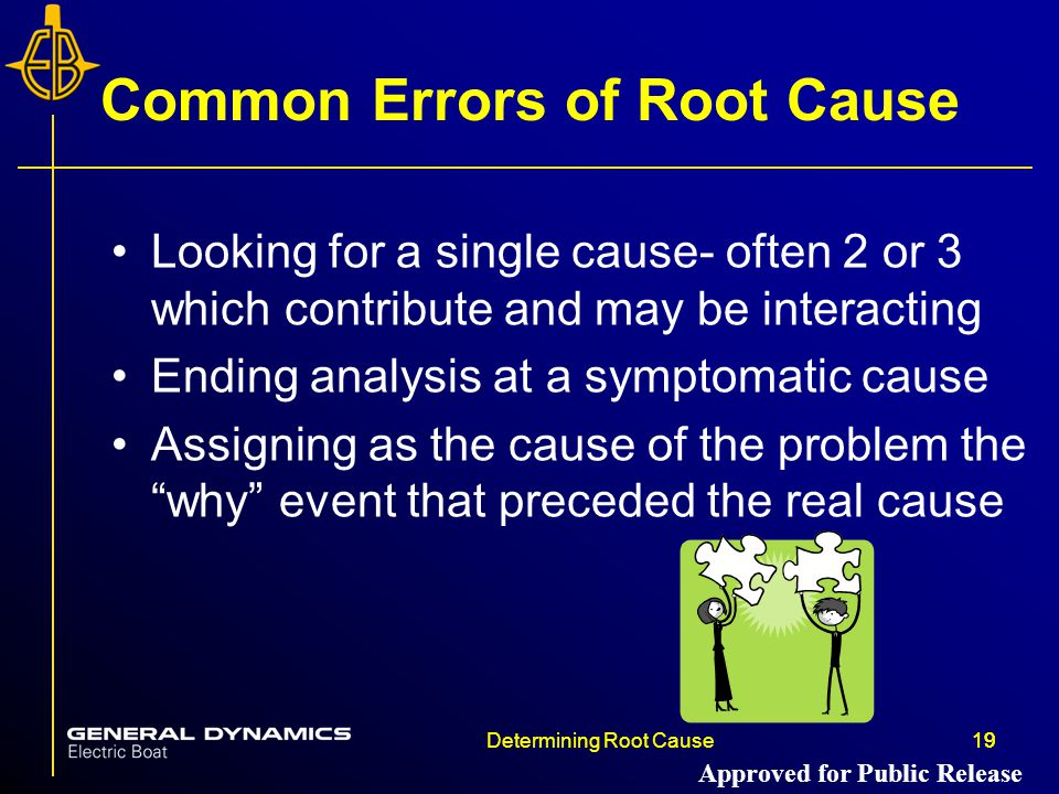 Common Errors of Root Cause