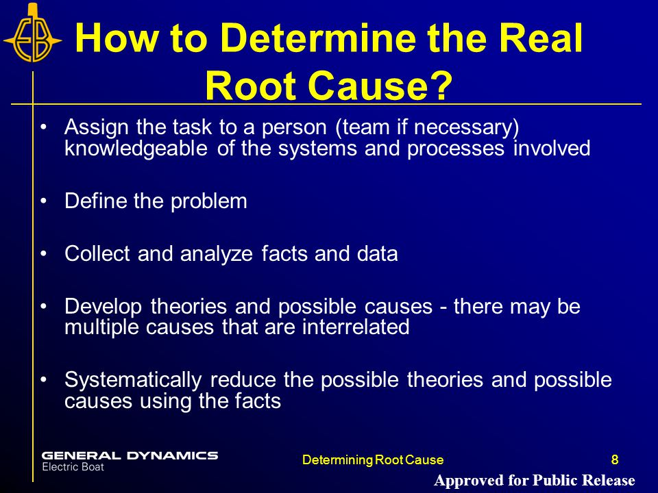 How to Determine the Real Root Cause